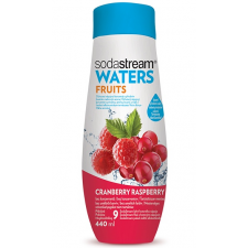 SodaStream Waters FRUITS vörösáfonya/málna szörp, 440 ml szörp