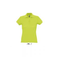 SOL'S PASSION női piképóló, almazöld női póló