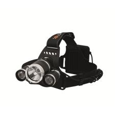 SOLIGHT LED fejlámpa SUPER POWER, 900 lm, 3 x Cree LED, 4 x AA barkácsolás, csiszolás, rögzítés