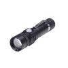 SOLIGHT Tölthető LED zseblámpa kerékpár tartóval, 400lm