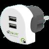 Somogyi Elektronic DUPLA USB TÖLTŐ DUAL USB CHARGER 2.4A EUROPE