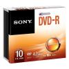 Sony 10DMR47SS DVD-R 4.7 GB 16x slim tok lemez 10db/csomag