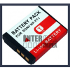 Sony Cyber-shot DSC-T3S 3.6V 1000mAh utángyártott Lithium-Ion kamera/fényképezőgép akku/akkumulátor