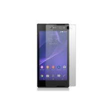 Sony D2533 Xperia C3 üvegfólia, ütésálló kijelző védőfólia törlőkendővel (0.26mm vékony, 9H)* mobiltelefon előlap