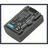 Sony DCR-SR100E 7.2V 650mAh utángyártott Lithium-Ion kamera/fényképezőgép akku/akkumulátor