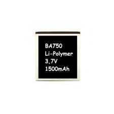 Sony Ericsson BA750 kompatibilis utángyártott akkumulátor (1500mAh, Li-ion, X12 Arc)* mobiltelefon akkumulátor