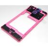 Sony LT25 Xperia V középső keret pink*