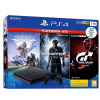 Sony PlayStation 4 Slim (PS4 Slim) 1TB + (GT Sport, Uncharted 4, Horizon Zero Dawn)