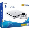 Sony PlayStation 4 Slim (PS4 Slim) 500GB Glacier White
