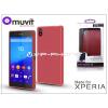 Sony Sony Xperia Z5 (E6653) hátlap - Made for Xperia Muvit miniGel - red