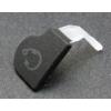 Sony ST27 Xperia Go headsetcsatlakozó takaró fekete*