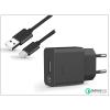 Sony USB gyári hálózati gyorstöltő adapter + Type-C adatkábel - QC 2.0 Quick Charger - 5V/1,8A - UCH10 + UCB20 Type-C 2.0 (ECO csomagolás)