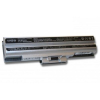 Sony Vaio Chip BPS13, BPS21 6600mAh Ezüst Akkumulátor