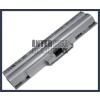 Sony VAIO VGN-AW31S/B 4400 mAh 6 cella ezüst notebook/laptop akku/akkumulátor utángyártott