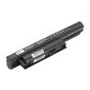 Sony VPC sorozat VPC-EE laptop akkumulátor, új, gyárival megegyező minőségű helyettesítő, 9 cellás (6600mAh)