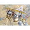 Sopwith Camel F.1 repülő makett Roden 040
