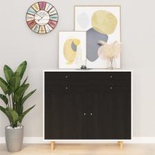 Sötét faszínű öntapadó PVC bútorfólia 500 x 90 cm redőny
