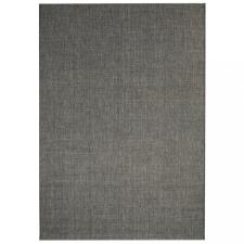 Sötétszürke, szizál hatású beltéri/kültéri szőnyeg 140 x 200 cm redőny
