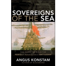 Sovereigns of the Sea – Angus Konstam idegen nyelvű könyv