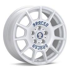 Sparco 5X100 17X7.5 ET48 SPARCO TERRA White Blue Lettering 63,4 alufelni