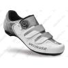 Specialized Comp Road országúti kerékpáros cipő 46-os BOA fűzőrendszerrel, fehér/titán