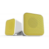 """Speedlink Hangszóró, 2.0, sztereó, 6W, USB,  """"Snappy"""", fehér és sárga"""