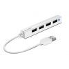 "Speedlink USB elosztó-HUB, 4 port, USB, 2.0, SPEEDLINK ""Snappy Slim"" fehér"