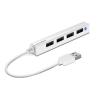 Speedlink USB elosztó-HUB, 4 port, USB, 2.0, SPEEDLINK