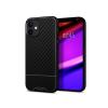 Spigen Apple iPhone 12 Mini ütésálló hátlap - Spigen Core Armor - fekete