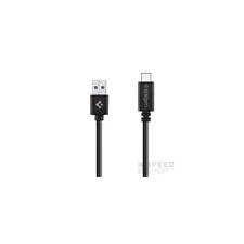 Spigen Essential C10C0 USB Type-C adatkábel (USB 3.1 Gen 1), fekete kábel és adapter