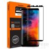 Spigen Glas.tR Curved Samsung Galaxy Note 8 Tempered Glass hajlított kijelzővédő fólia, fekete