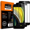 Spigen Glass FC 2 Pack Black iPhone SE 2020/8/7