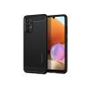 Spigen Samsung A525F Galaxy A52/A526B Galaxy A52 5G ütésálló hátlap - Spigen Rugged Armor - fekete