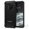 Spigen SGP Reventon Samsung Galaxy S9 Black hátlap tok (üvegfólia)