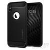 Spigen SGP Rugged Armor Apple iPhone Xs Matte Black hátlap tok