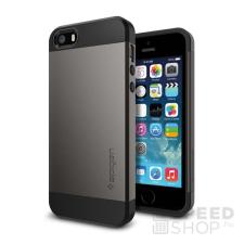 Spigen SGP Slim Armor Apple iPhone SE/5s/5 Gunmetal hátlap tok tok és táska