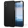 Spigen SGP Thin Fit Apple iPhone Xs Black hátlap tok