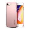 Spigen Thin Fit Apple iPhone 8 Rose Gold hátlap tok