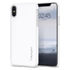 Spigen Thin Fit, white – iPhone X tok