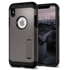 Spigen Tough Armor, gunmetal – iPhone X tok