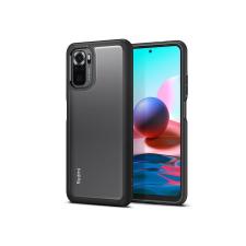 Spigen Xiaomi Redmi Note 10/Note 10S ütésálló hátlap - Spigen Ultra Hybrid - fekete/átlátszó tok és táska