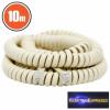 Spirál telefonvezeték 4P/4C 10 m