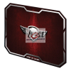 Spirit of Gamer Egérpad - WINGED SKULL Red (295 x 235 x 3mm; piros)