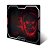 Spirit of Gamer SOG-PAD01XLR Spirit of Gamer SMOKEY SKULL Red egérpad, 430 x 320 x 3mm, Piros (SOG-PAD01XLR)