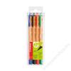 STABILO Filctoll készlet, 0,8 mm, STABILO Greenpoint, 4 különböző szín (TST60884)