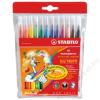 STABILO Filctoll készlet, illatos, STABILO Trio Frutti, 12 különböző szín (TST2901201)
