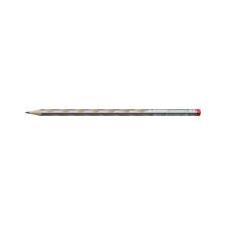 "STABILO Grafitceruza, HB, háromszögletű, vékony, jobbkezes, STABILO, ""EASYgraph"", ezüst ceruza"