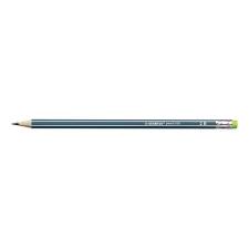 STABILO Grafitceruza STABILO Pencil 160 2B hatszögletű olajzöld radíros ceruza