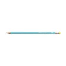 STABILO Grafitceruza STABILO Pencil 160 HB hatszögletű radíros kék ceruza