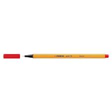 "STABILO ""Point 88"" tűfilc, 0,4 mm, piros filctoll, marker"